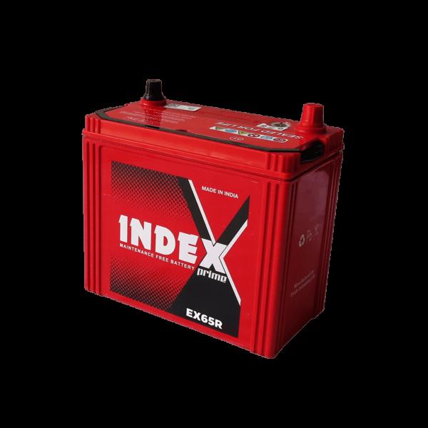 แบตเตอรี่รถยนต์ INDEX EX65R