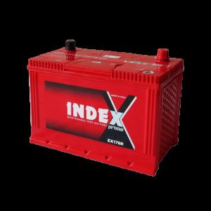 แบตเตอรี่รถยนต์ INDEX EX175R
