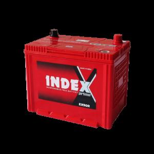 แบตเตอรี่รถยนต์ INDEX EX90R