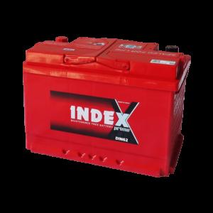 แบตเตอรี่รถยนต์ INDEX DIN62