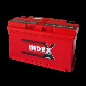 แบตเตอรี่รถยนต์ INDEX DIN80L