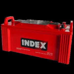 แบตเตอรี่รถยนต์ INDEX MF150